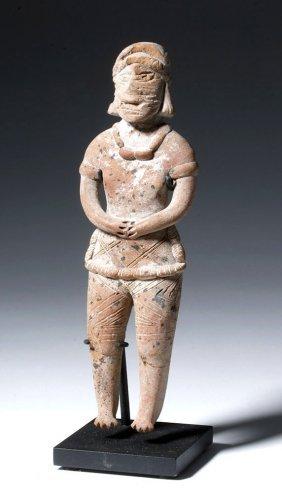Large Colima / Jalisco Pottery Autlan Figure