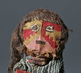 Authentic Chancay Textile Reed Doll, Ex-arte Primitivo