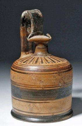 Greek Proto-corinthian Oinochoe With Trefoil Lip