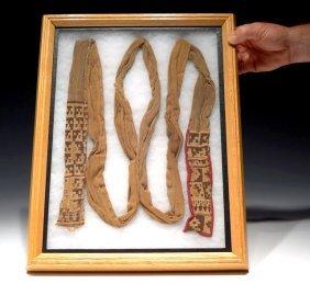 Chancay-chimu Complete Woven Textile Garment, Ex-museum