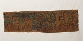 Rare Paracas Sihuas Textile Panel