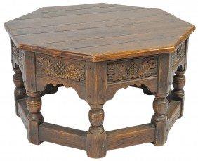 A MID CENTURY CALIFORNIA SPANISH STYLE TABLE