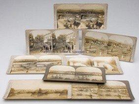 SHENANDOAH JUNCTION, WV STEREOVIEW CARDS, LOT OF EI