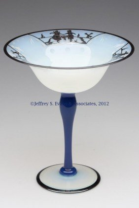FRY ART GLASS #2502 COMPOTE