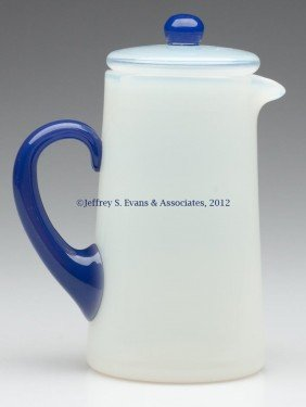 FRY ART GLASS #2000 HOT WATER JUG WITH COVER