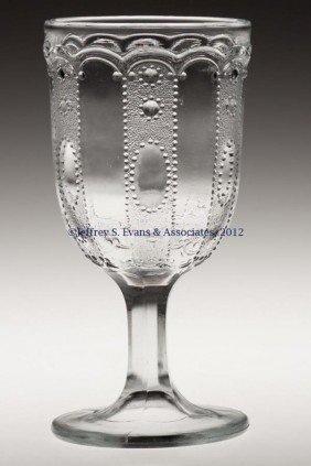 KANSAS / JEWEL AND DEWDROP CHAMPAGNE GLASS