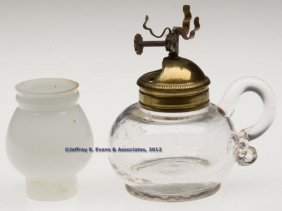 """UNION PATENT"" MINIATURE FINGER LAMP"