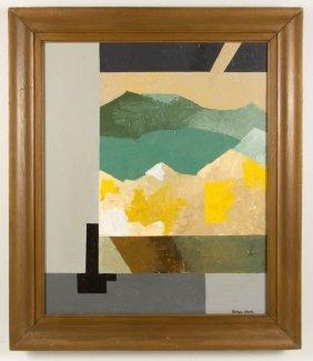 Kenzo Okada (japanese/american, 1902-1982) Abstract