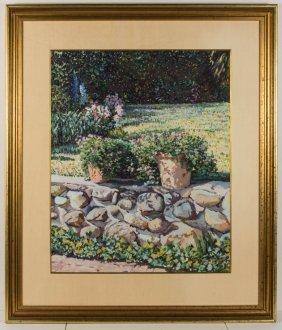 Carrita Smith (american, 20th Century) Landscape