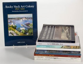 New England And Other Fine Art Reference Volumes, Lot