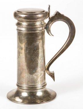 American Sterling Silver Tankard