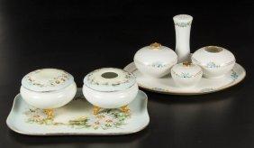 Assorted Ceramic Dresser Articles, Lot Of Eight