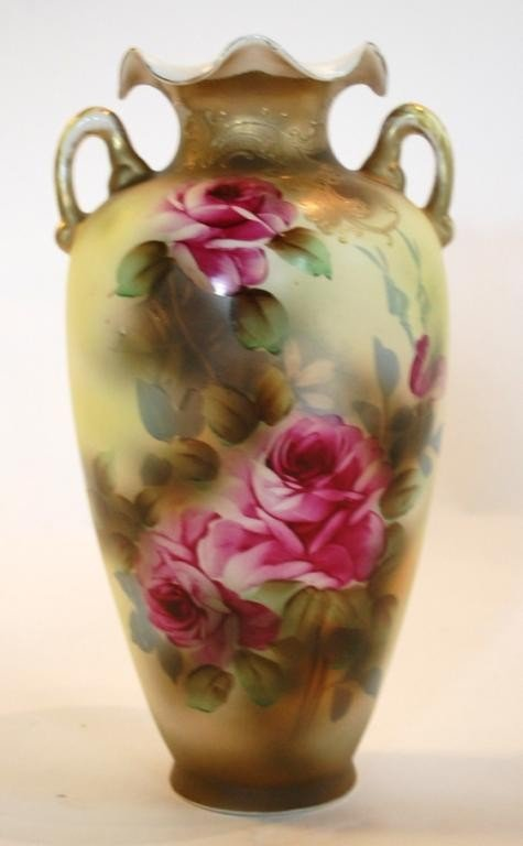 271 Nippon Vase Royal Nishiki Lot 271