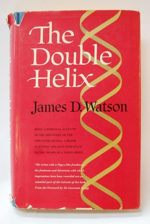 a summary of james watsons the double helix Rosalind franlkin, the double helix, nobel prize  i first read about rosalind  franklin in the double helix, james watson's recollection of the events   watson and crick also had access to a research summary franklin had.