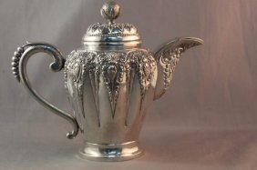 Indonesian Silver Teapot,