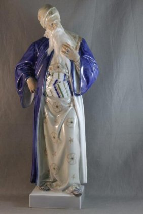 "Large Royal Copenhagen Porcelain Figure ""Moses"","