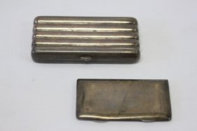 Victorian Silver Cheroot Case,