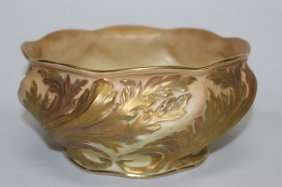 Grainger And Co. Ivory Blush Porcelain Bowl,