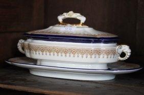 Part Royal Worcester Porcelain Dinner Service,