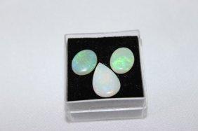 Three Loose Australian Opals,
