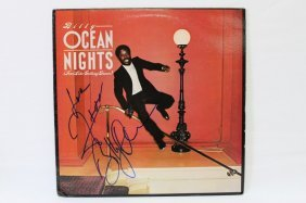 Signed Lp, Billy Ocean