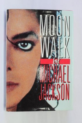 Signed First Edition Book, Michael Jackson,