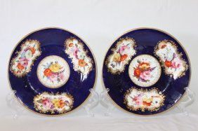 Pair Of Early 19th Century English Plates,