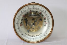 Table Barometer