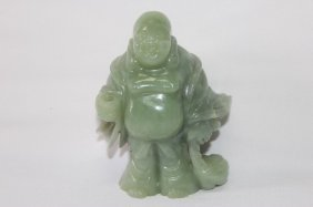 Chinese Serpentine Figure Of Budhai,
