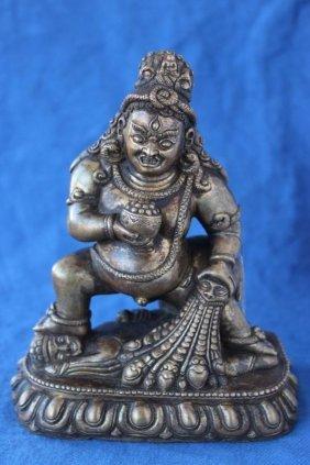 Tibetan Bronze Figural Deity Group,