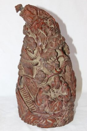 Chinese Bamboo Carving,