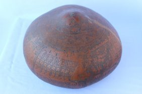 Carved South East Asian Gourd,