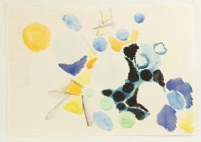 Ernst Wilhelm Nay (German, 1902-1968) Watercolor