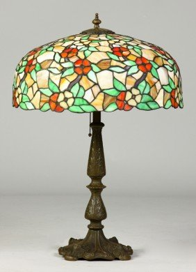 Early 20th Cent. Leaded Lamp