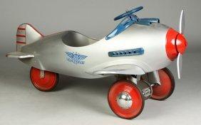 Vintage Airplane Pedal Car Lot 252