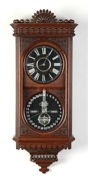 Ithaca Kildare Hanging Wall Clock Lot 411