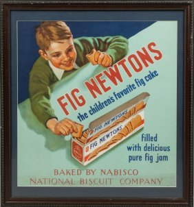Vintage Fig Newtons Poster