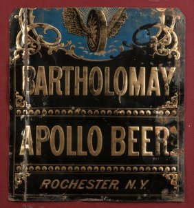 Bartholomay Apollo Beer, Rochester, Ny, Painted &