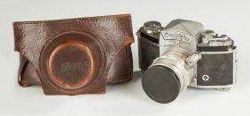 Vintage Exakta Ihagee Camera & Various 1945 Letters
