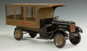 "Dayton ""sonny"" Parcel Post Pressed Steel Truck"