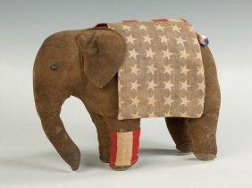 Patriotic Cloth Elephant