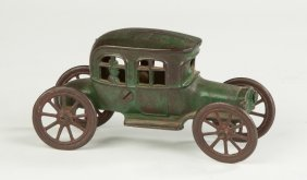 Cast Iron Automobile Penny Bank