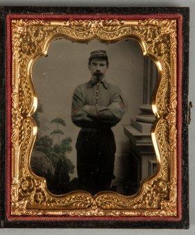 Civil War 1/4 Plate Tin Type