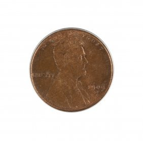 1909-s Vdb Lincoln One Cent