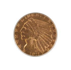 1911-s Indian Five Dollar