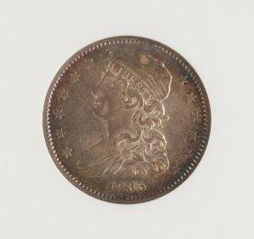 1835 Capped Bust Twenty Five Cent