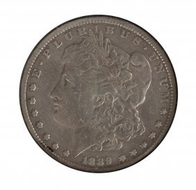 1889 Cc Morgan Dollar