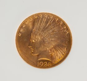 1926 Indian Head Ten Dollar