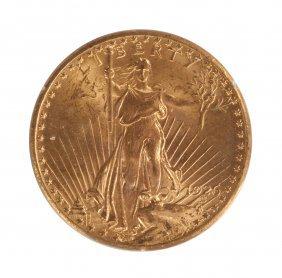 1926 St. Gaudens Twenty Dollar