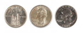 Three Twenty Five Cent Coins